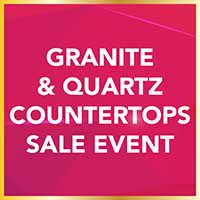 National Gold Tag Flooring Sale - Granite & Quartz Countertops Event at Erskine Interiors