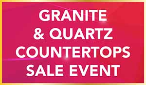 National Gold Tag Flooring Sale - Granite & Quartz Countertops  Sale Event at Erskine Interiors